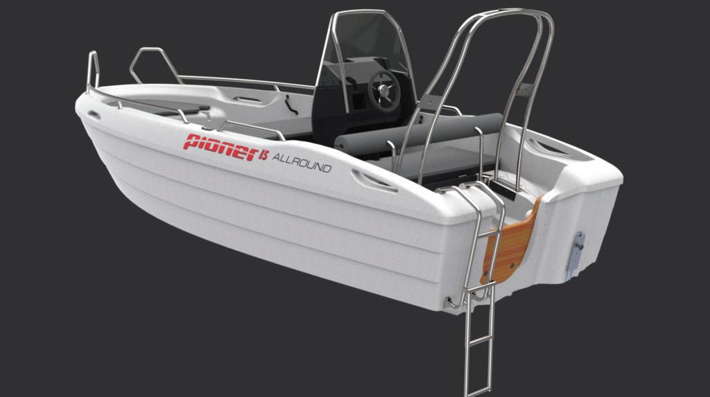Βάρκα / σκάφος Pioner 15  Allround
