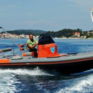 marin rib 646 VFI stepped hull