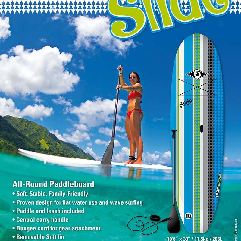 σανίδα stand up paddle surf BiC Slide 10.6