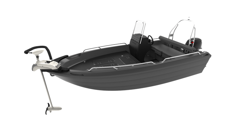 Pioner 14 fisher + Motorguide σειρα Xi5 ηλεκτρικό μοτέρ άγκυρα
